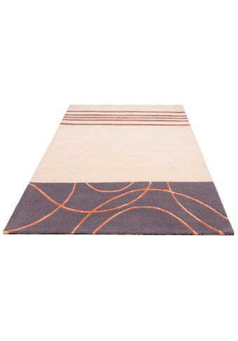 Theko Exklusiv Teppich »LLoyd«, rechteckig, 15 mm Höhe, Seidenotik durch Viskose, Wohnzimmer kaufen