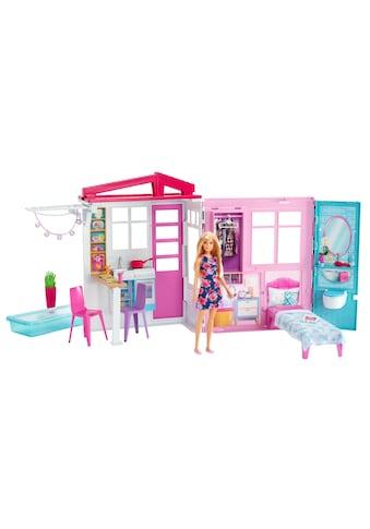 Barbie Puppen Spielcenter »Ferienhaus mit Möbeln« kaufen