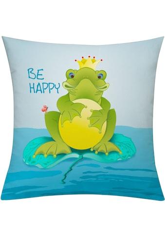 emotion textiles Kissenhülle »Frog« kaufen