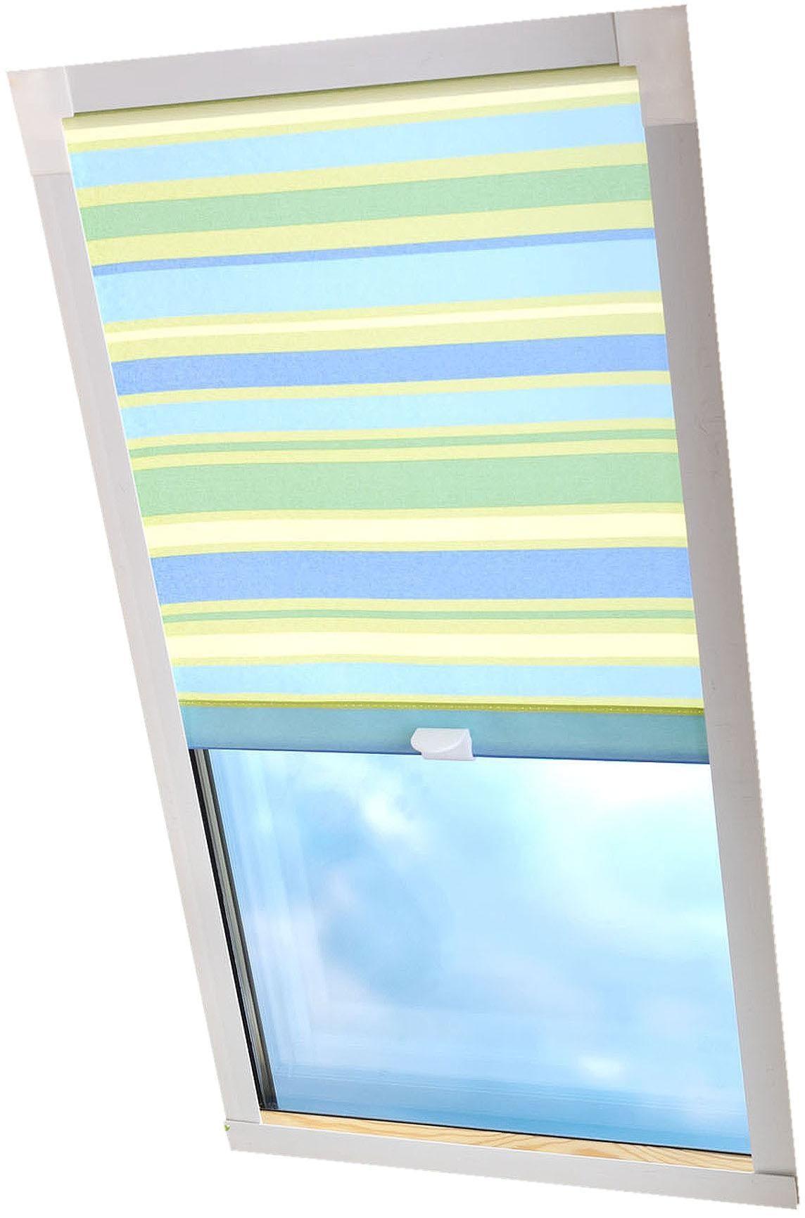 Image of Dachfensterrollo »Dekor«, Liedeco, Lichtschutz, in Führungsschienen