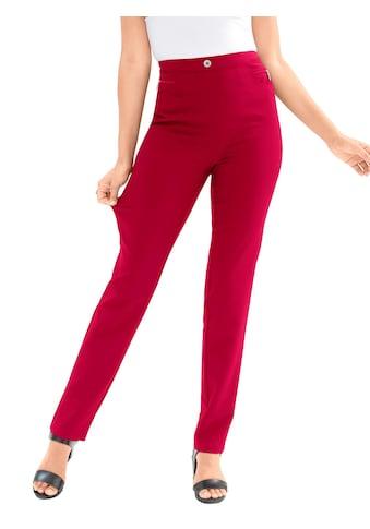 Classic Basics Hose mit Zier - Reissverschlussblende kaufen