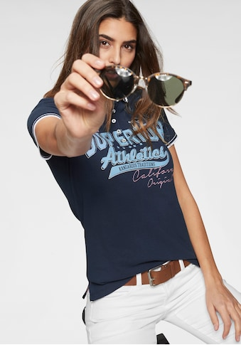 KangaROOS Poloshirt, mit grossem Frontdruck kaufen