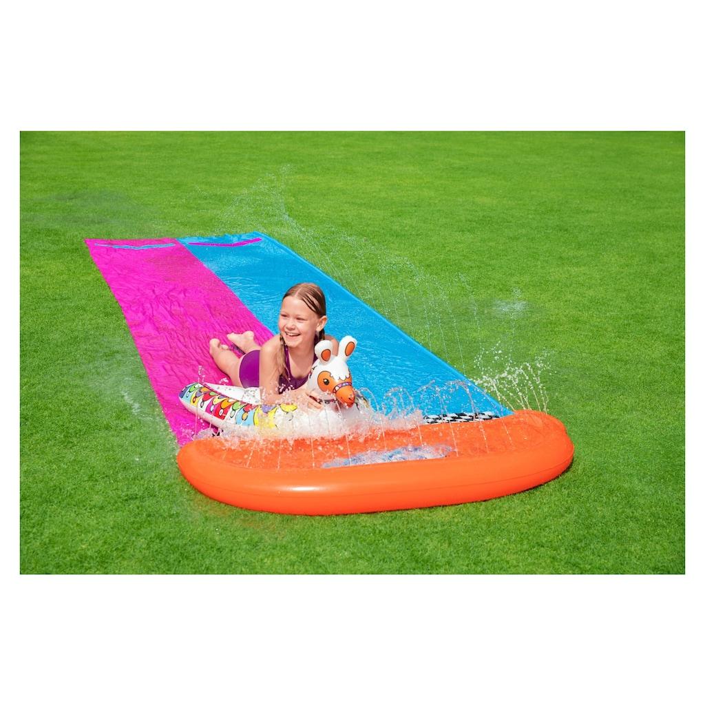 Bestway Wasserrutsche »Spielplatz Llama Rama Double Race Slide«