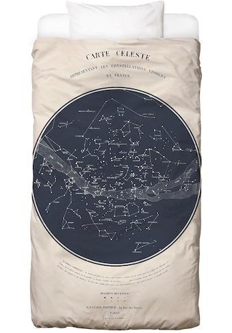 Juniqe Bettwäsche »Carte du Ciel«, In vielen weiteren Designs erhältlich kaufen