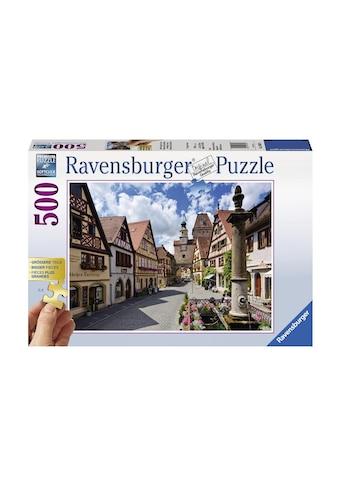 Ravensburger Puzzle »Rothenburg ob der Tauber« kaufen