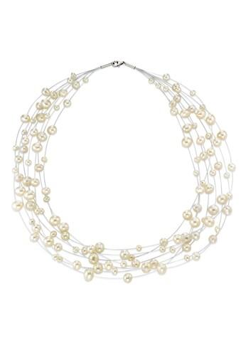 Collier 925 Perlen mehrreihig kaufen