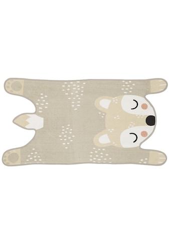 Teppich »Bibi Bear«, quadratisch, - mm Höhe kaufen