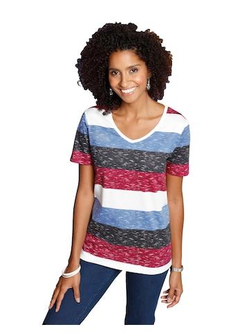 Classic Basics Shirt mit effektvollen Blockstreifen kaufen