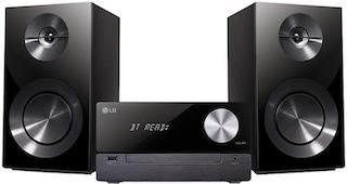 lg cm2460 stereoanlage bluetooth fm tuner mit rds 100. Black Bedroom Furniture Sets. Home Design Ideas