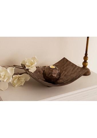 Myflair Möbel & Accessoires Dekoschale »Jennifer«, grossbronze kaufen