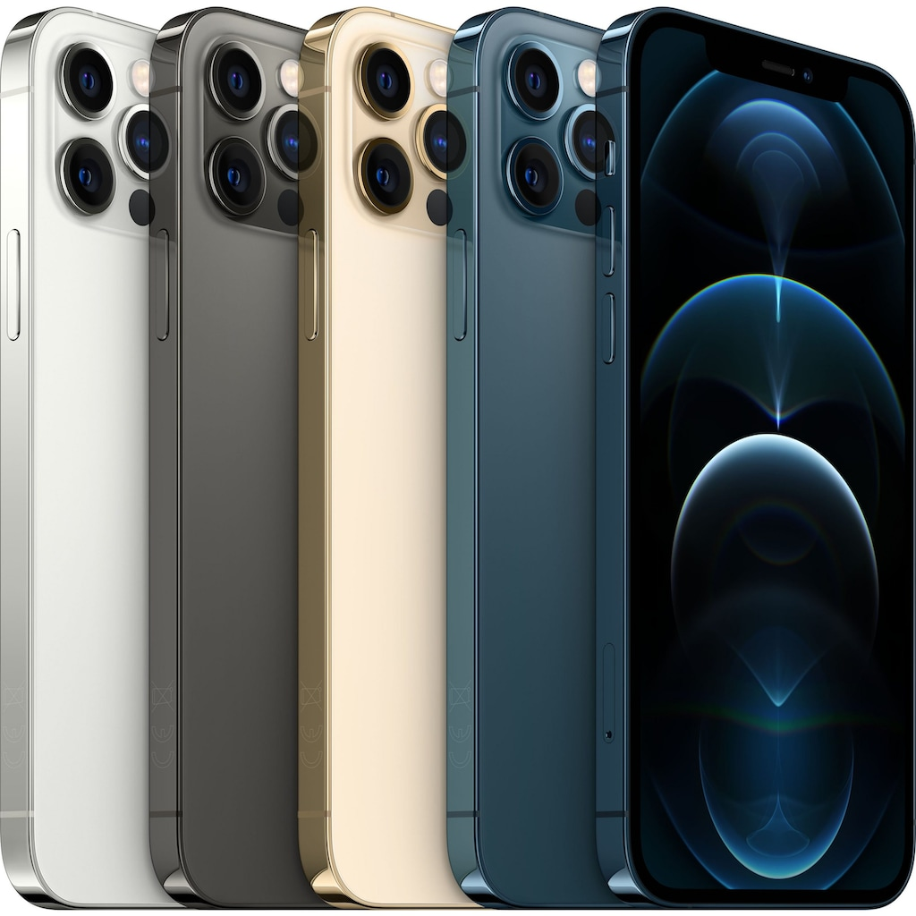 "Apple Smartphone »iPhone 12 Pro - 128 GB«, (15,5 cm/6,1 "", 128 GB, 12 MP Kamera)"
