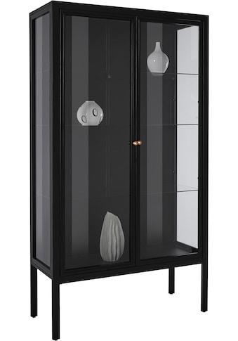 Leonique Vitrine »Ashlee«, aus schönem Metall gefertigt, mit Glaseinlegeböden und... kaufen