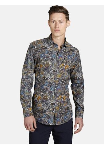SHIRTMASTER Langarmhemd »bouquetforyou«, in trendigem Blumenmuster kaufen