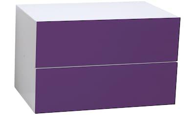 PHOENIX MÖBEL Schubladenelement »Atlanta«, B/H/T: 55 x 34 x 38 cm kaufen