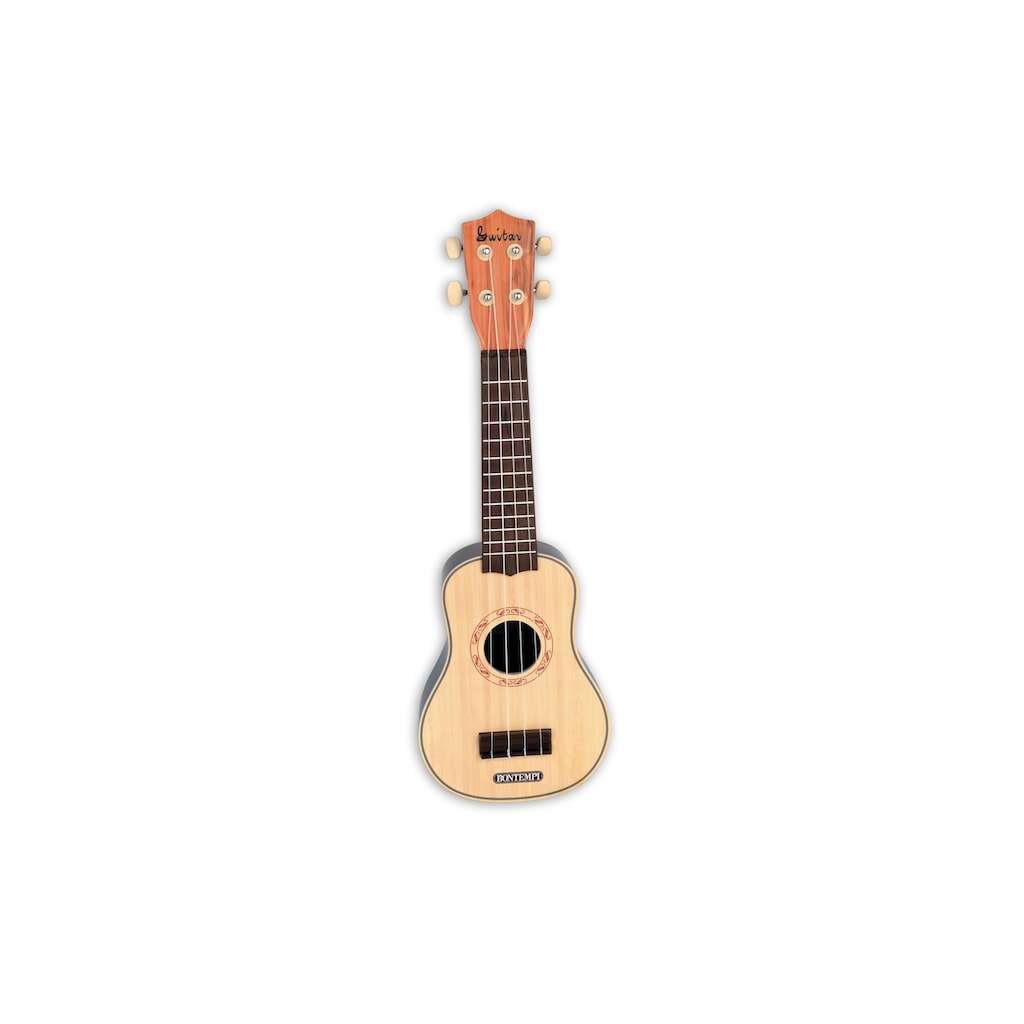 Spielzeug-Musikinstrument »Ukulele mit 4 Nylon-Saiten«