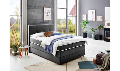 ATLANTIC home collection Boxspringbett, mit Bettkasten und Topper kaufen