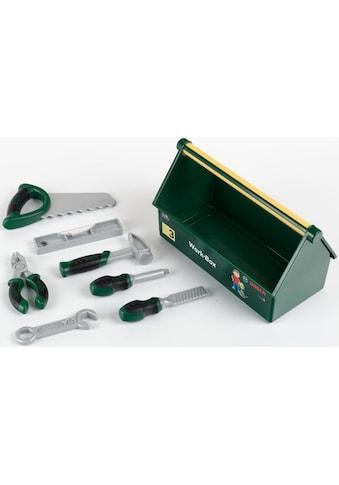 Klein Spielwerkzeugkoffer »Bosch Work-Box«, (Set), Made in Germany kaufen