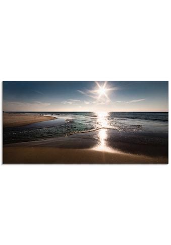 Artland Glasbild »Sylt IV« kaufen