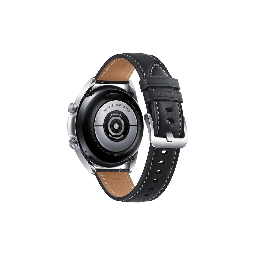 Samsung Smartwatch »Galaxy Watch 3 BT 41mm Silberfarben«