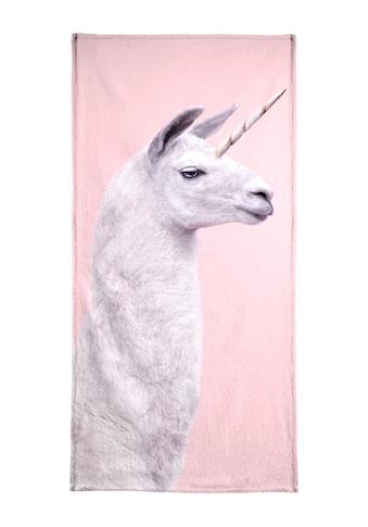 "Handtuch ""Llama Unicorn"", Juniqe kaufen"