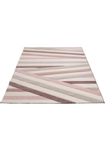 merinos Teppich »Pastel 21641«, rechteckig, 13 mm Höhe, Wohnzimmer kaufen