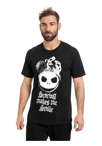 Disney T - Shirt »Nightmare Before Christmas Scaring Makes Me Smile« kaufen