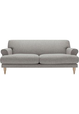 LOVI Sofa »Ginger«, 2-Sitzer, Füsse in Eiche natur, Sitzunterfederung mit Dynaflex Polsterunterlage, Hightech-Gewebe mit hoher Dimensionsstabilität kaufen