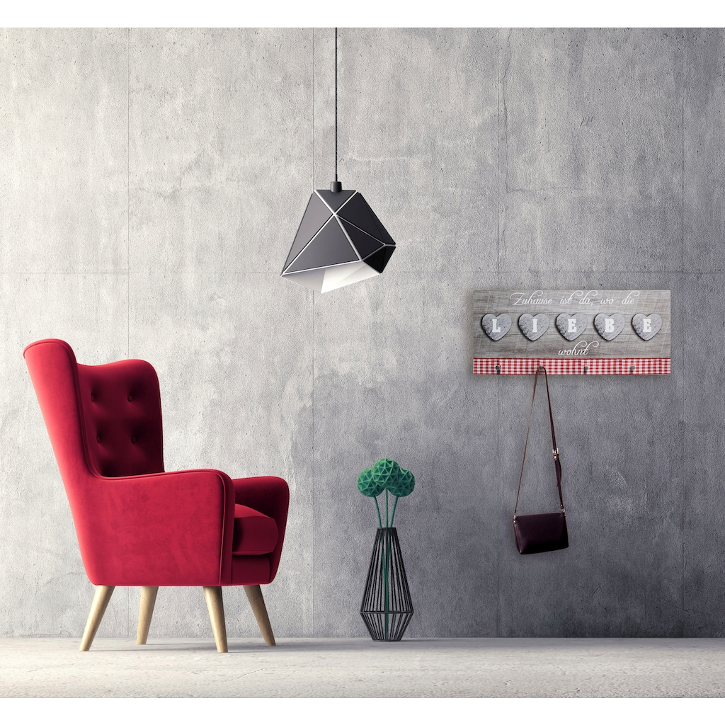 Bönninghoff Garderobe »Garderobe ca. 30x70 cm, 4 Haken«