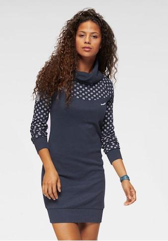 KangaROOS Sweatkleid, mit Print im Schulter- und Ärmelbereich kaufen