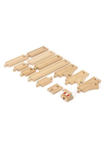 BRIO® Spielzeugeisenbahn-Schiene »Ergänzungsset Holzschienensystem, BRIO® WORLD Schienen Starter Pack B« kaufen