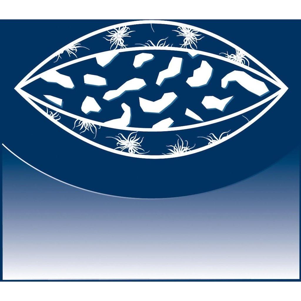 billerbeck 3-Kammer-Kopfkissen »3-Kammer-Kissen, Billerbeck, »Arlene Visco««, Füllung: Aussen: 80% neue, reine Entendaunen weiss, 20% Federchen                              Innen: 100% Polyurethan (Viscoschaumflocken), Bezug: 100% Baumwolle, (1 St.)
