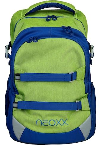 neoxx Schulrucksack »Active, Lime o'clock« kaufen