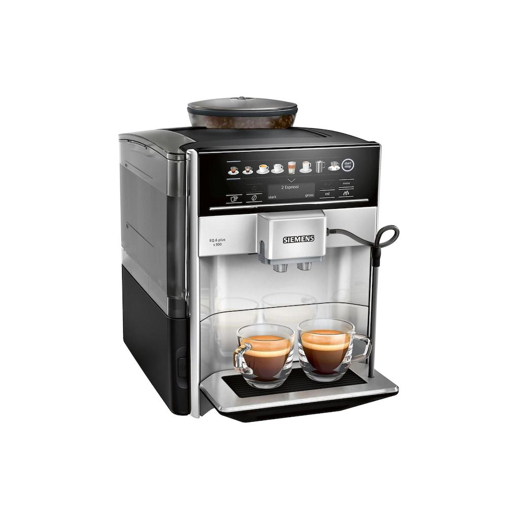 SIEMENS Kaffeevollautomat »EQ.6 plus s300«