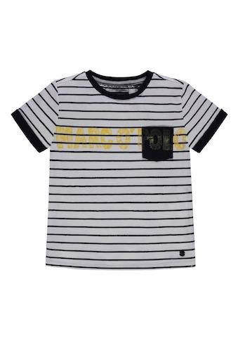 Marc O'Polo Junior T-Shirt gestreift mit Logo kaufen