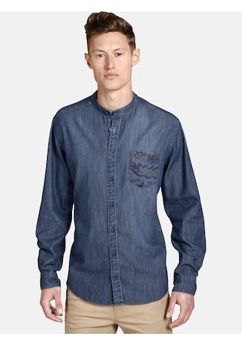 SHIRTMASTER Jeanshemd »funkydenim« kaufen