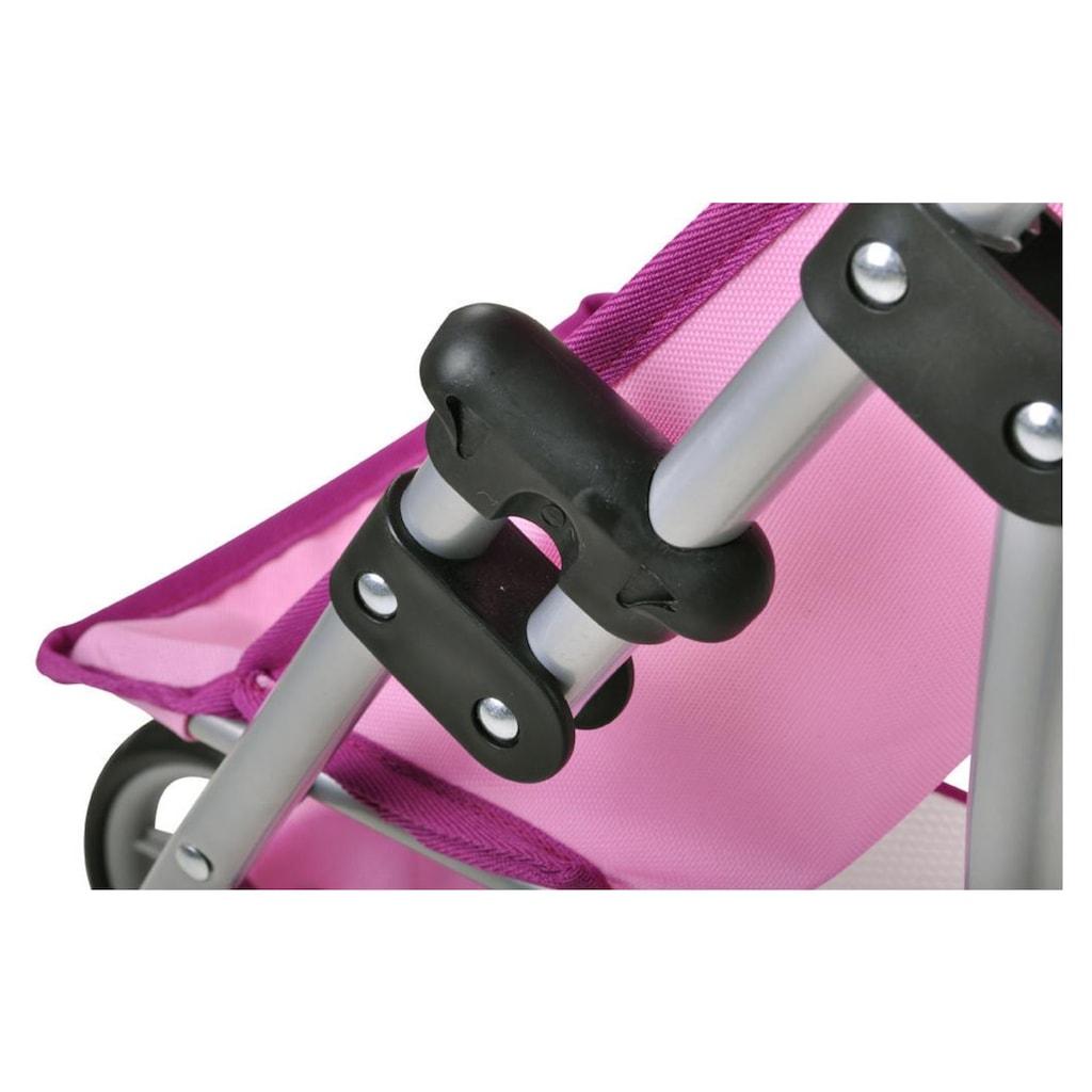 Knorrtoys® Puppenwagen »Jogger Lio Uma das Einhorn rosa«