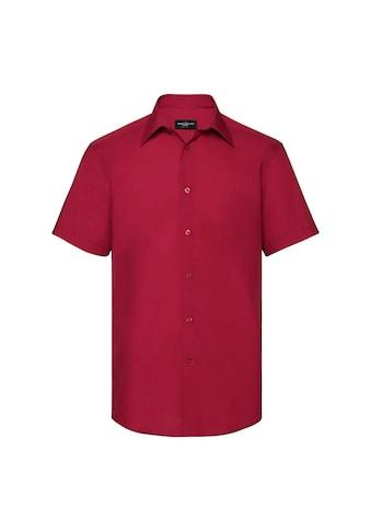 Russell Kurzarmhemd »Collection Easy Care Tailored Poplin Hemd für Männer, kurzarm« kaufen