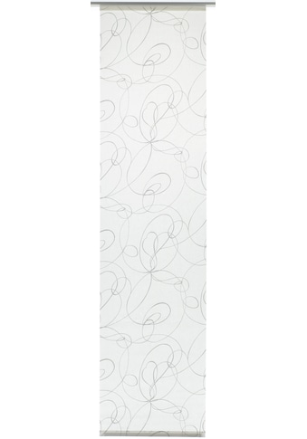 GARDINIA Schiebegardine »Flächenvorhang Stoff Curling mit weissen Paneelwagen«, HxB: 245x60 kaufen