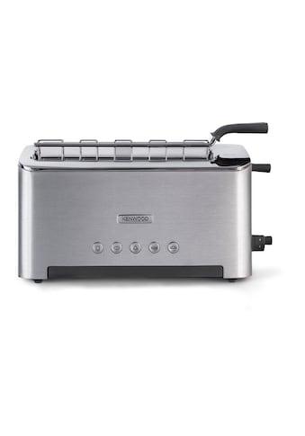Kenwood Toaster »Persona TTM610, Silberfarben«, für 2 Scheiben, 1080 W kaufen