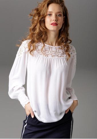 Aniston CASUAL Spitzenbluse kaufen