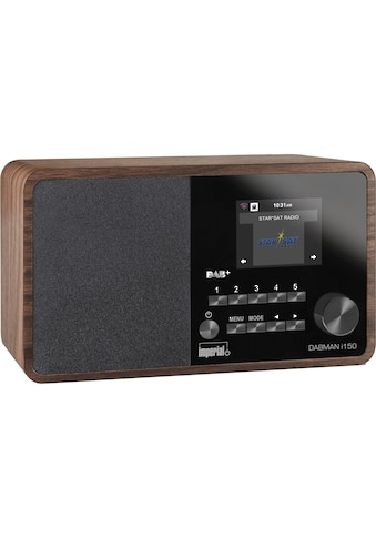 IMPERIAL Internet-Radio »Dabman i150 Braun«, (WLAN Digitalradio (DAB+)-Internetradio-FM-Tuner ) kaufen
