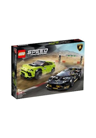 LEGO® Spielbausteine »Speed Champions Lamborghini Urus ST-X & Huracán Super« kaufen