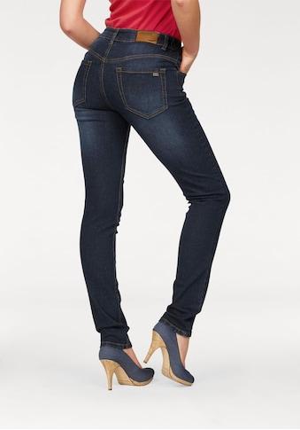 Arizona Slim-fit-Jeans »Svenja - Bund mit seitlichem Gummizugeinsatz«, High Waist kaufen