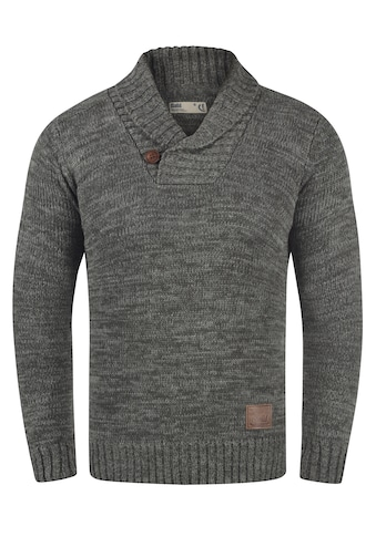 Solid Schalkragenpullover »Phil«, Strickpulli in Melange-Optik kaufen