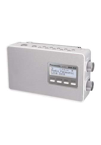 DAB Radio, Panasonic, »RF - D10EGW Weiss« kaufen