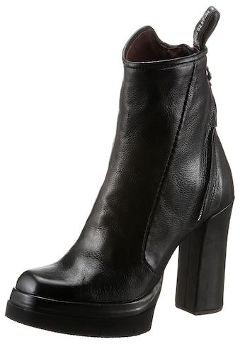 A.S.98 High-Heel-Stiefelette »VIVENT«, mit bedruckter Anziehlasche kaufen