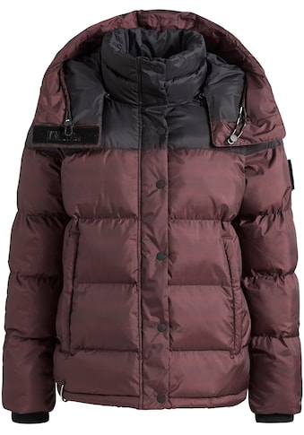 khujo Steppjacke »ADANE«, stylische Winterjacke mit abnehmbarer grosser Kapuze kaufen
