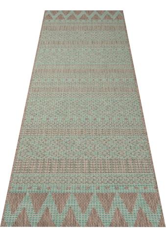 Läufer, »Sidon«, bougari, rechteckig, Höhe 4 mm, maschinell gewebt kaufen