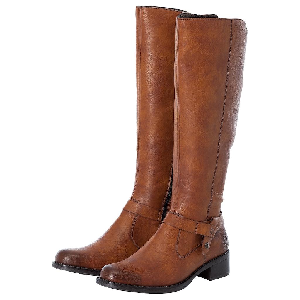 Rieker Stiefel, mit zusätzlichem Reissverschluss hinten