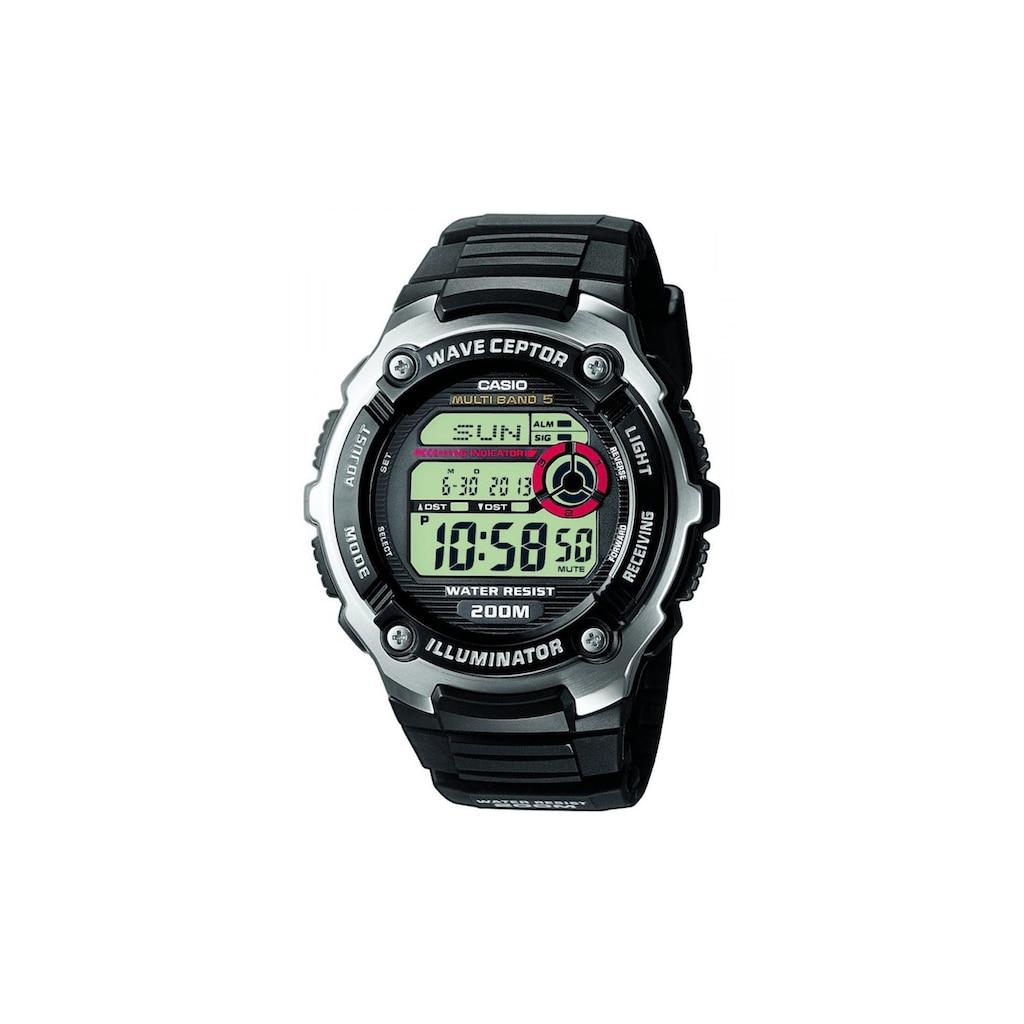 CASIO Watch »Armbanduhr Wave Ceptor WV-200E-1AVEF«